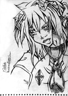 Anime Character Sketch