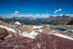 View from Sperry Glacier http://www.theartfulappetite.com/2016/10/06/sperry-chalet-food-and-lodging-at-glacier-national-park/