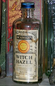 Grandma used Witch Hazel for loads of things - it hasn't changed in 100 years.