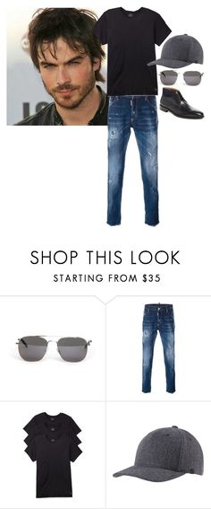 """""""Lucifer Moon"""" by ashleyr0sexo ❤ liked on Polyvore featuring Yves Saint Laurent, Dsquared2, Calvin Klein Underwear, prAna, Wall + Water, men's fashion and menswear"""