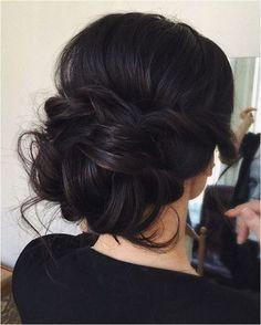 eye-catching Wedding Hairstyle: Updo Inspiration https://bridalore.com/2017/11/12/wedding-hairstyle-updo-inspiration/