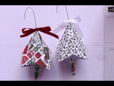 German Bell Paper Ornament - YouTube