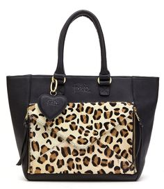 Two In One Bag shark attack & leopard Fab | The Little Green Bag