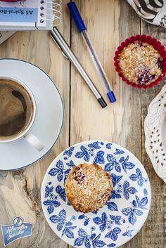 Śniadaniowe muffinki owsiane (bez mąki)