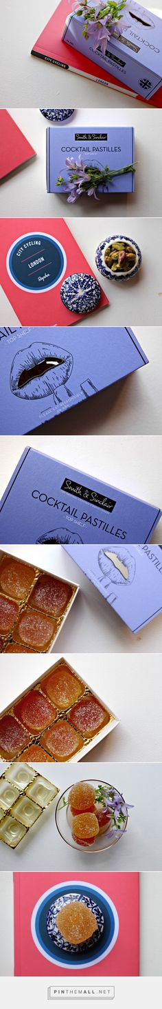 Happy Hour: Smith and Sinclair Cocktail Pastilles packaging via Tea Time in Wonderland curated by Packaging Diva PD. Succulent, luxurious pâtes de fruits inspired by mixology and liquor. Happy Hour, Brand Packaging, Mixed Drinks, Package Design, Tea Time, Liquor, Promotion, Succulents, Shots