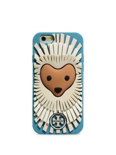 TORY BURCH Lola The Lion Silicone Iphone 6 Case. #toryburch #bags #phone case #accessories #