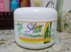 """""""Silicon Mix Bambú, é um tratamento capilar indicado para cabelos quebradiços, opacos e danificados. Possui extrato de bambu e vitaminas que tratam, hidratam e nutre os cabelos. Esta Máscara incrível contém Extrato de Bambu, um ingrediente natural que regenera e nutre os fios, além de Silicones que selam, proporcionam macies, protegem e adicionam brilho aos cabelos. As Vitaminas A, E, F, H (Biotina), H', Pró-Vitamina B5 (Pantenol), H8 (Inositol) e Extrato de Castanha da Índia presentes em…"""