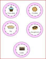 Free printable mini signs to use in your dramatic play bakery theme in preschool, pre-k, kindergarten, or homeschool. Kindergarten Center Signs, Kindergarten Social Studies, Dramatic Play Area, Dramatic Play Centers, Play Based Learning, Learning Through Play, Sugar Plum Bakery, Bakery Sign, Bakery Shops