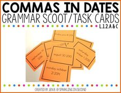 Commas in Dates Scoo
