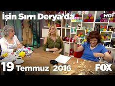 Zeynep Tufan'dan naturel rafyadan çanta ve sandalet yapımı...İşin Sırrı Derya'da 19 Temmuz 2016 - YouTube