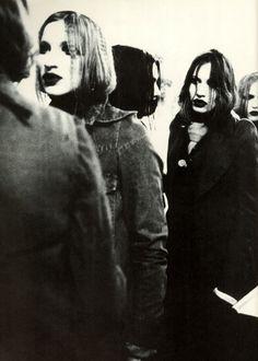 MAISON MARTIN MARGIELA, AW89: backstage photo from street magazine volume 1 & 2 1999.
