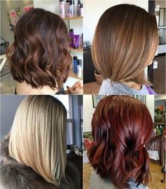shoulder-length bob haircut for thick hair