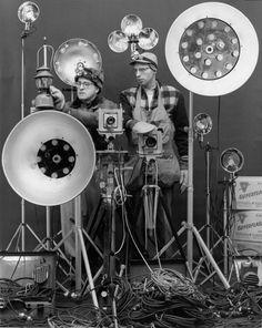 O. Winston Link and George Thom, 1956 O. Winston Link