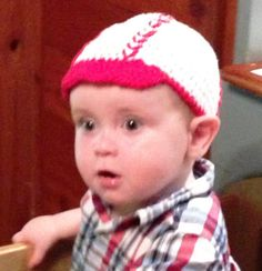 Soft & cotton handcrocheted baseball cap. by RoRoConcoctions, $25.00