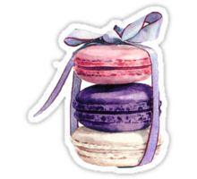 Macarons Sticker