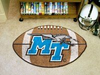 Middle Tennessee State University Ball Shaped NCAA Area Rugs
