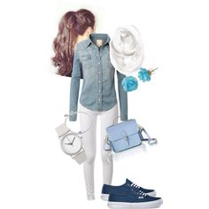 denim 'd relaxed by design-21 on Polyvore featuring polyvore fashion style rag & bone Vans The Cambridge Satchel Company Cobra & Bellamy Normal Timepieces Lilia Nash Jewellery Halogen