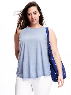 Relaxed Plus-Size Tank