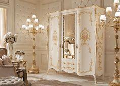 Armadi classici e di lusso in stile veneziano e fiorentino - Andrea Fanfani