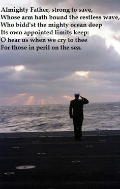 For all the Navy families and their sailors - wishing you fair winds and following seas, always.