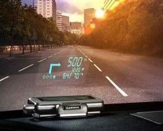 Navigation System Projects Phone Directions Onto The Windshield