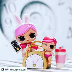 Love the cute little clock in this lovely photo from @lolsurprise.es #Repost @lolsurprise.es (@get_repost) Haz me gusta si también llegas tarde a todas las citas como Hops y Lil Hops #LOLsurprise #lolsurprisedolls #comunidadlol #collectlol #doll #dolls #toy #toys #muñeca #muñecas #juguete #collect #LOLSurpriseSerie2