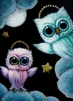 TINY ANGELS OWLS... WELCOME TO HEAVEN