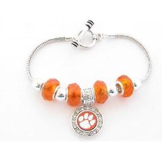 Finely crafted, this wonderful bracelet will make a great addition to any Clemson fan's jewelry collection. Buy for yourself or as a great gift for family and friends! This wonderful bracelet is OFFIC