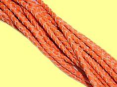 Lederbänder mit Naturfarbenen Kanten zur Herstellung von Lederschmuck