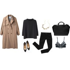 Untitled #288 by dustmites on Polyvore featuring moda, Acne Studios, Steven Alan, Bardot, Only Hearts, Ann Taylor and Zara