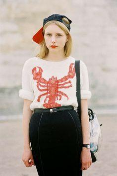 (via Vanessa Jackman: Paris Fashion Week SS 2014….Marie)