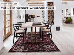 Image result for wishbone chairs