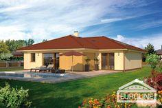 Rodinné domy EUROLINE - Bungalov 1086 - 1