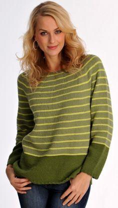 Familie Journal - strikkeopskrifter til hende Pullover, Green Fashion, Hand Knitting, Knitwear, Knitting Patterns, Knit Crochet, Women Wear, Style Inspiration, Sweaters
