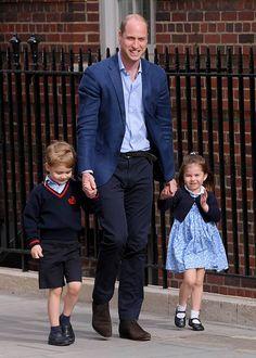 Prince William, Prince George, Princess Charlotte