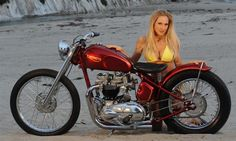 He had to build a pre-unit bobber and stay true to the Triumph code. Description from bikernet.com. I searched for this on bing.com/images