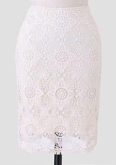 Jennette Crochet Skirt