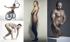 Team GB Paralympians strip off for a racy photo shoot to encourage body…