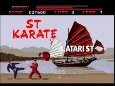 ST Karate - Atari ST (1986)