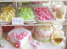 mini bakery felt - stuffed toy pattern sewing handmade craft idea template inspiration