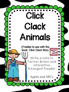 Apples and ABCs: Click, Clack, Moo: Cows That Type