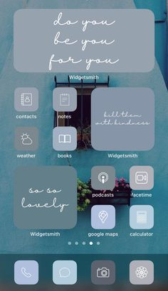 Want a home screen that looks like this? Check out SOSO Branding on Etsy (etsy.com/shop/sosobranding) for app covers to customize your home screen and make it aesthetically pleasing!   iPhone home screen ideas | Home screen inspo | Aesthetic home screen inspiration | Widgetsmith Shortcuts app | Aesthetic home screen inspo | iOS 14 widget photos | iOS 14 app covers | iOS 14 app icons Microsoft Visio, Microsoft Excel, Blue Tones, Neutral Tones, Shortcut Icon, Ios, Any App, Phone Themes, App Covers