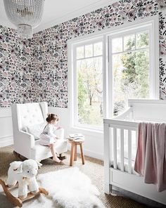 The nursery is a space that embodies nurture, love and playful creativity, so let your imagination run free and be inspired by these 12 enchanting baby rooms. Mcm House, Facade House, Kids House, Weatherboard House, Creative Kids Rooms, All White Kitchen, Solar House, Australian Homes, Grey Walls