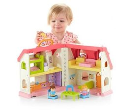 Doll-House-Toy-Little-People-Surprise-And-Sounds-Home-Fisher-Price-Girls-Kids
