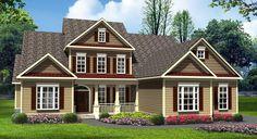 Craftsman   Traditional   House Plan 58238