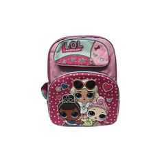 487baa2e2b17 LOL Surprise! 12-Inch Small Pink Girl s Backpack