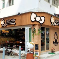 Attention please, Hello Kitty fans! We finally have a proper Hello Kitty themed cafe again in Hong Kong since the close down of the last one many years ago~ The cafe, Hello Kitty Secret Garden, will have its soft opening on this coming Sunday (1 June) and you can visit this lovely cafe during the opening hours: Tue - Thu 12:00pm - 9:00pm  Fri 12:00pm - 10:00pm  Sat 9:00am - 10:00pm Sun 9:00am -9:00pm Close on Monday  Location: 19 Ormsby Street, Tai Hang, Hong Kong #allabouthongkong