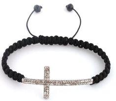 Faith Inspired Cross Bracelets  http://aproverbswife.com/2012/10/faith-inspired-cross-bracelets-only-4-99-free-shipping.html