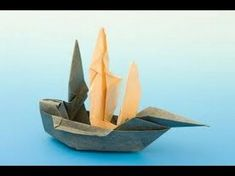 How to make an origami ship