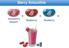 Berry Smoothie Jelly Belly Flavor Recipe Jelly Belly Flavors, Jelly Belly Beans, Jelly Beans, Best Candy, Favorite Candy, Bean Recipes, Candy Recipes, Belly Belly, Ice Cream Cookies
